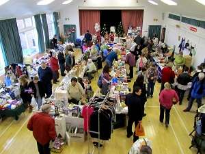 Sales at Hanney War Memorial Hall