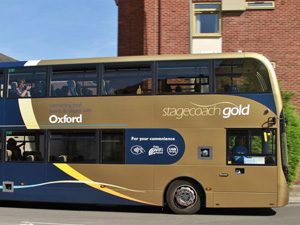 Stagecoach regular bus services.