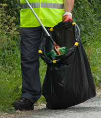 Help to keep our villages clear of rubbish.