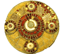 The 7th century Hanney brooch.