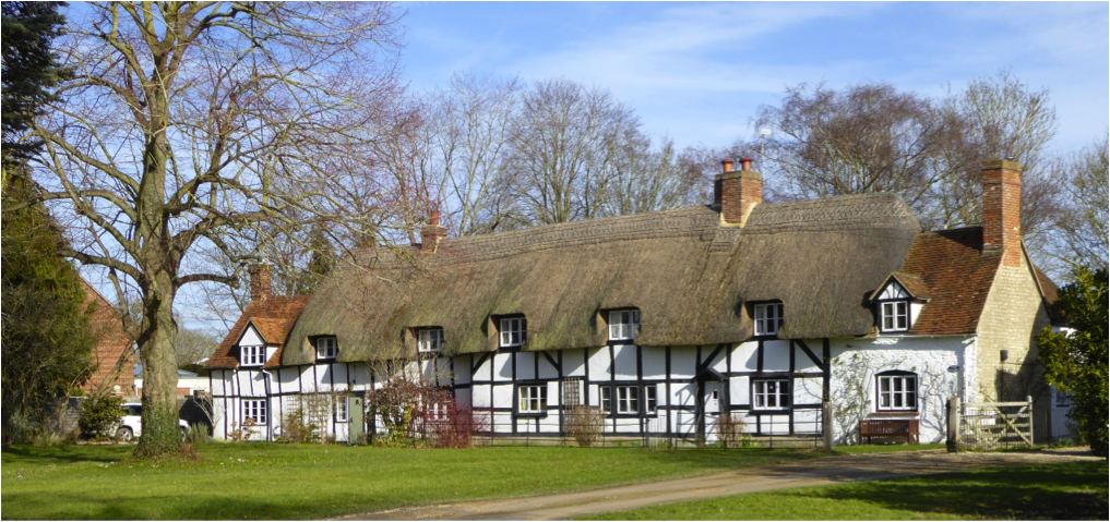 The Cottages at East Hanney Green.